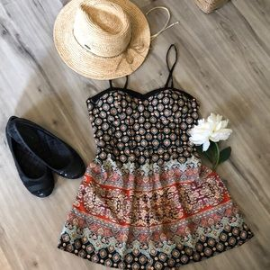Floral pattern romper